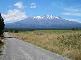 Mt Ruapehu from Middle Road