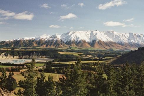 View of the Plains from the Rakaia Bridge